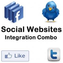 Social Website Integration Combo