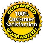 Total Website Customer Satisfaction Guarantee